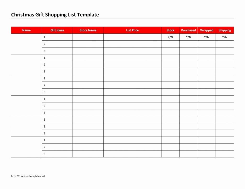 Christmas Shopping List Template Printable Fresh the Gallery for Secret Santa Wish List Ideas