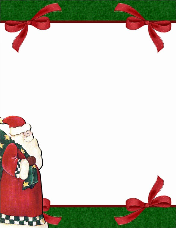 Christmas Stationery Templates Word Free Awesome 25 Christmas Stationery Templates Free Psd Eps Ai