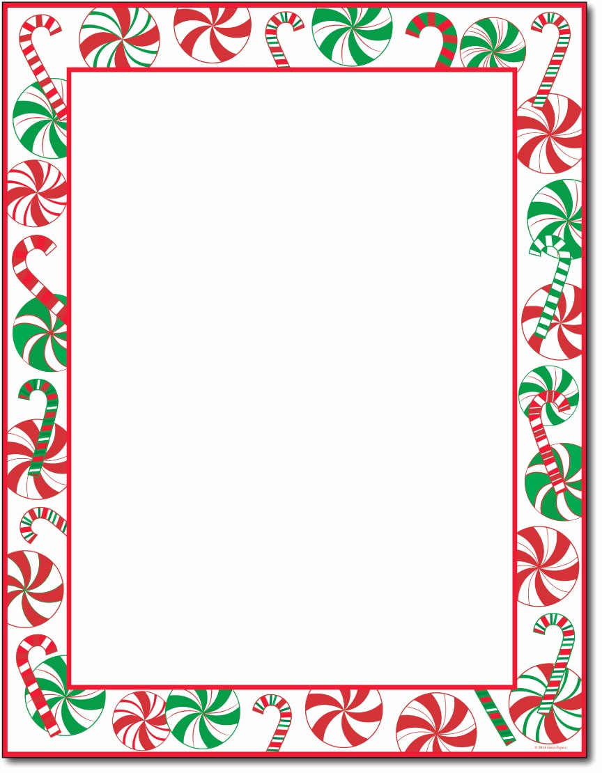 Christmas Stationery Templates Word Free Awesome 7 Best Of Holiday Stationery Paper Printable Free