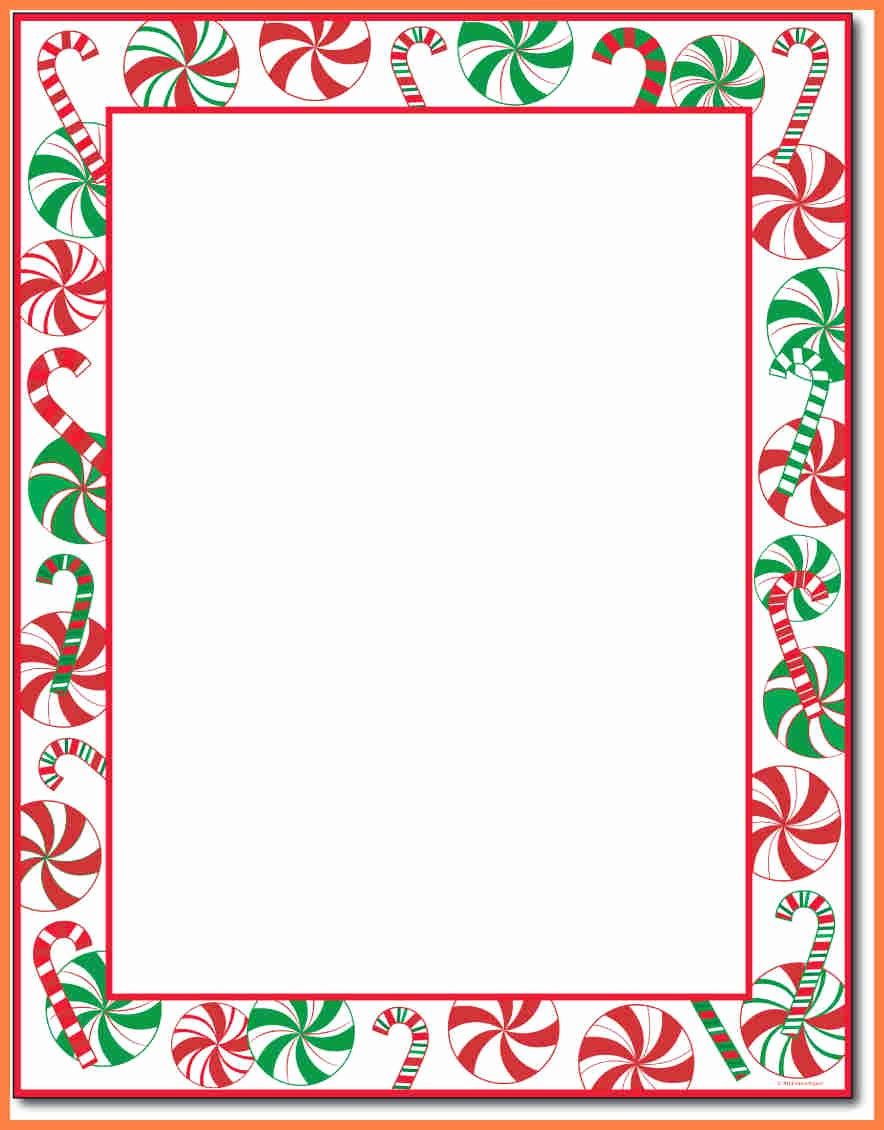Christmas Stationery Templates Word Free Awesome 7 Christmas Letterhead Templates Word