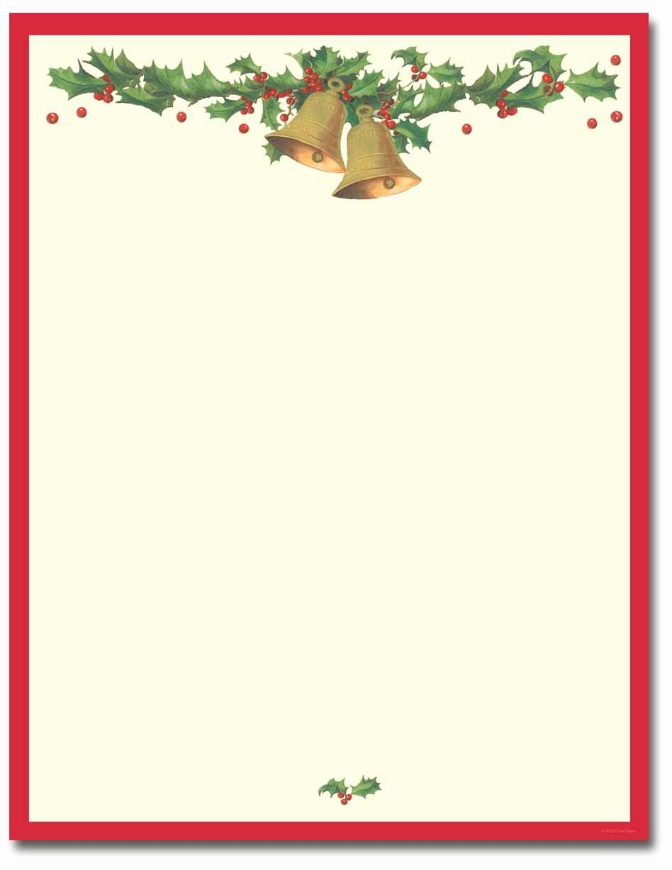 Christmas Stationery Templates Word Free Awesome Inspirational Microsoft Holiday Stationery Templates Free
