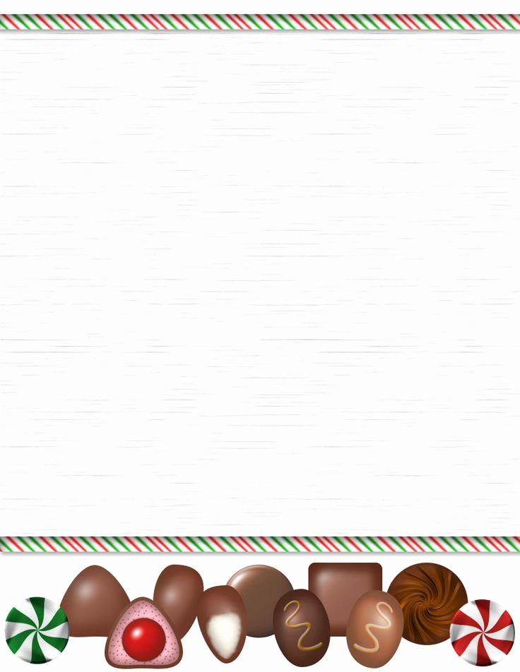 Christmas Stationery Templates Word Free Elegant Holiday Stationery for Word