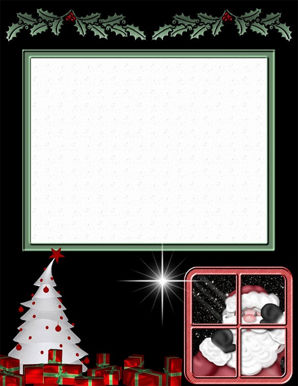Christmas Stationery Templates Word Free Inspirational 25 Christmas Stationery Templates Free Psd Eps Ai