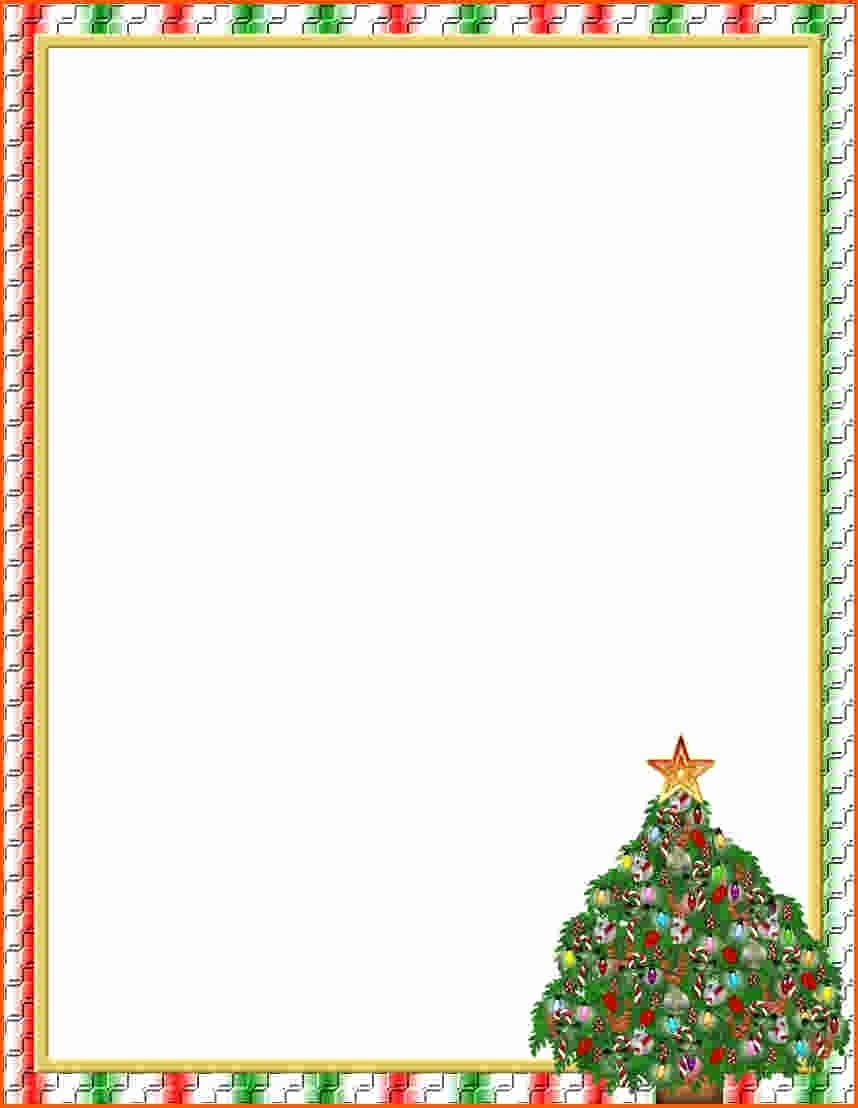 Christmas Stationery Templates Word Free Luxury Free Christmas Stationery Templates for Word