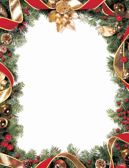 Christmas Stationery Templates Word Free New Christmas Stationery Letterheads Greeting Cards Doilies