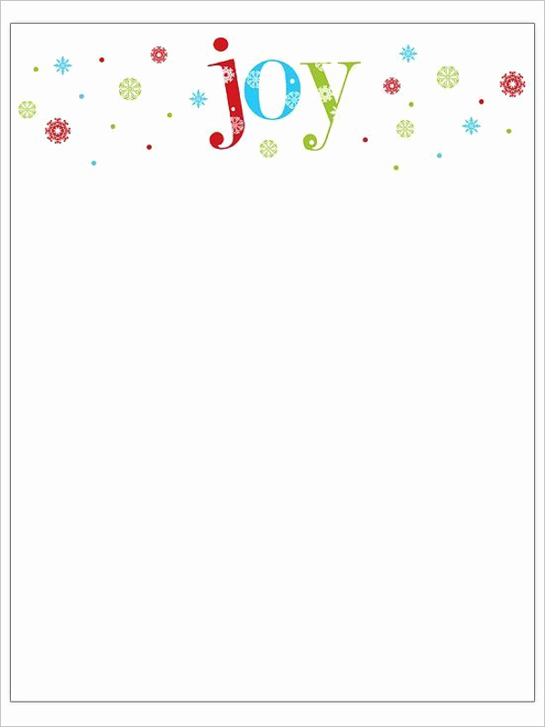 Christmas Stationery Templates Word Free Unique 22 Christmas Stationery Templates Free Word Paper Designs