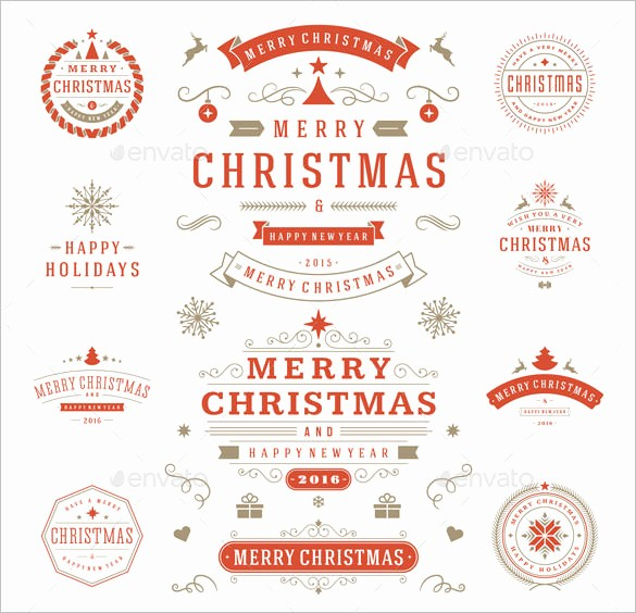 Christmas Tag Templates Microsoft Word Awesome 180 Christmas Label Templates Free Psd Eps Ai Vector