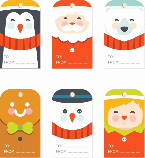 Christmas Tag Templates Microsoft Word Elegant Free Christmas Gift Tag Templates Editable & Printable