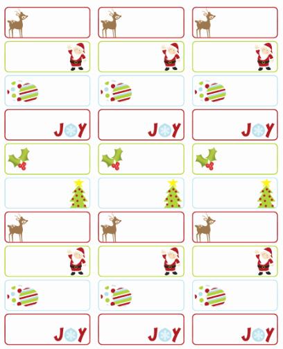 Christmas Tag Templates Microsoft Word Fresh Address Labels Free Address Label Templates On Pinterest