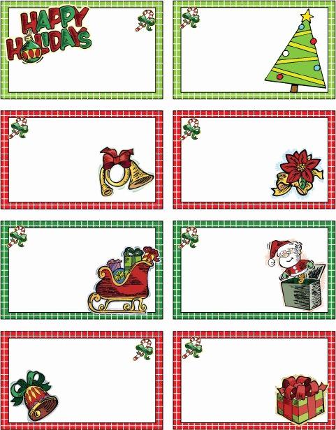 Christmas Tag Templates Microsoft Word Fresh Free Printable Christmas T Tags Google Search