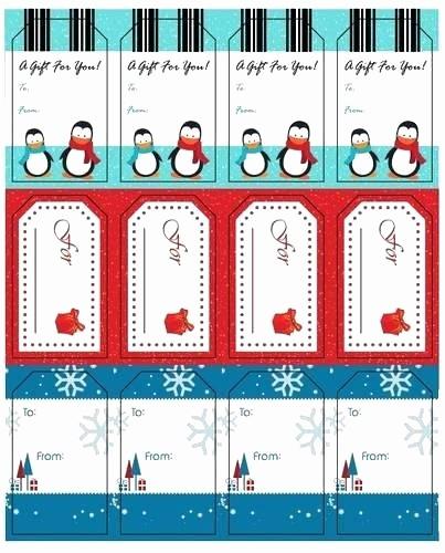 Christmas Tag Templates Microsoft Word Inspirational Gift Tags Template Label Templates Printable Microsoft