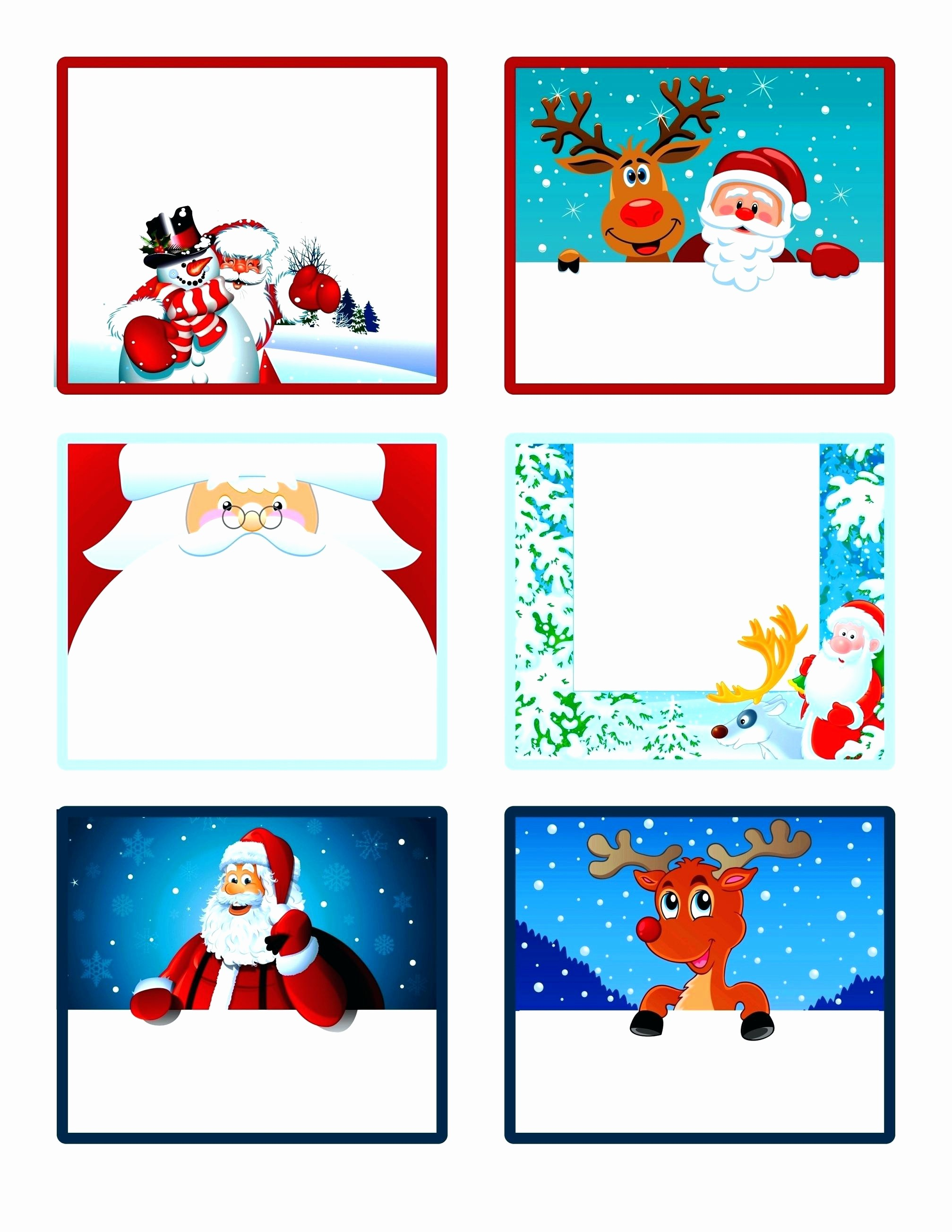 Christmas Tag Templates Microsoft Word Luxury Template Christmas Gift Labels Template Word