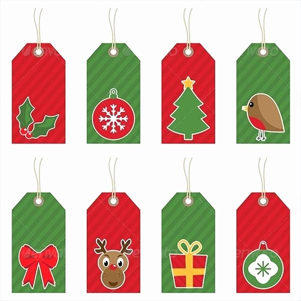 Christmas Tag Templates Microsoft Word Unique Gift Tags Template Label Templates Printable Microsoft