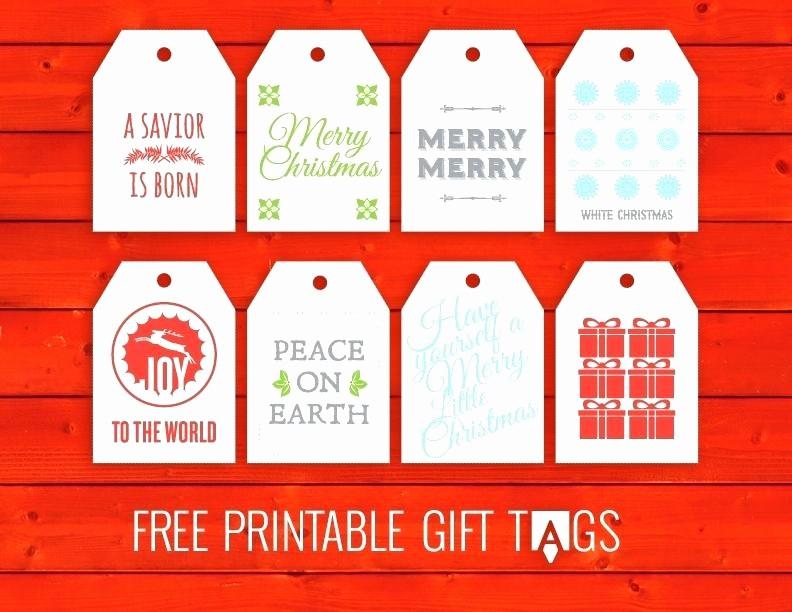 Christmas Tag Templates Microsoft Word Unique Printable Gift Tags Templates S Template Word Free