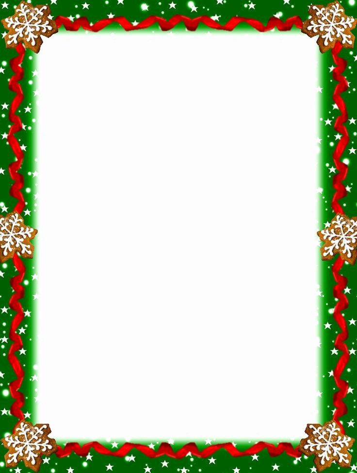 Christmas themed Borders for Word Awesome 1000 Images About Christmas Stationery On Pinterest