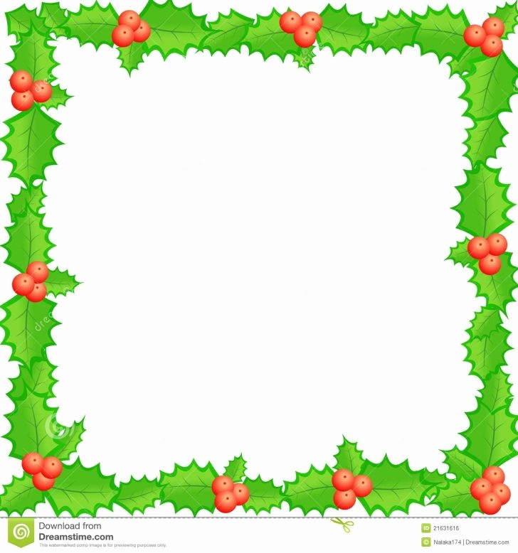 Christmas themed Borders for Word Awesome Christmas Borders for Word Documents