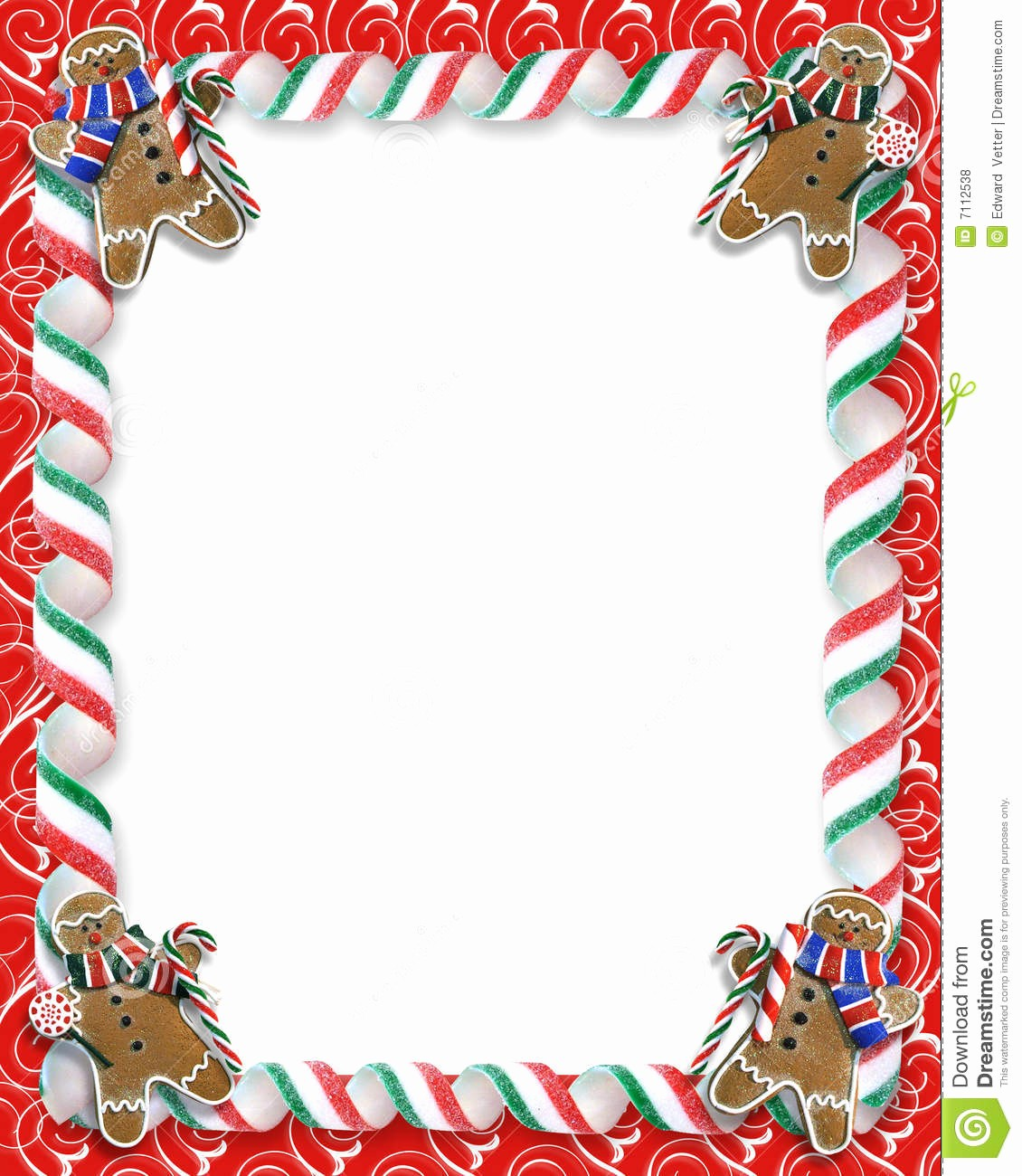 Christmas themed Borders for Word Beautiful Christmas Holiday Border – Fun for Christmas & Halloween