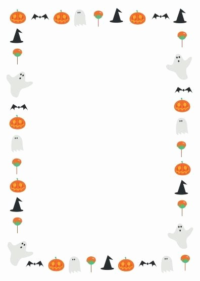 Christmas themed Borders for Word Fresh Halloween Border Microsoft Word – Festival Collections