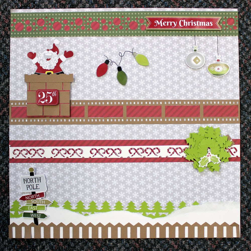 Christmas themed Borders for Word Inspirational Birthday Bash Week Project Idea 3 Holiday themed Border