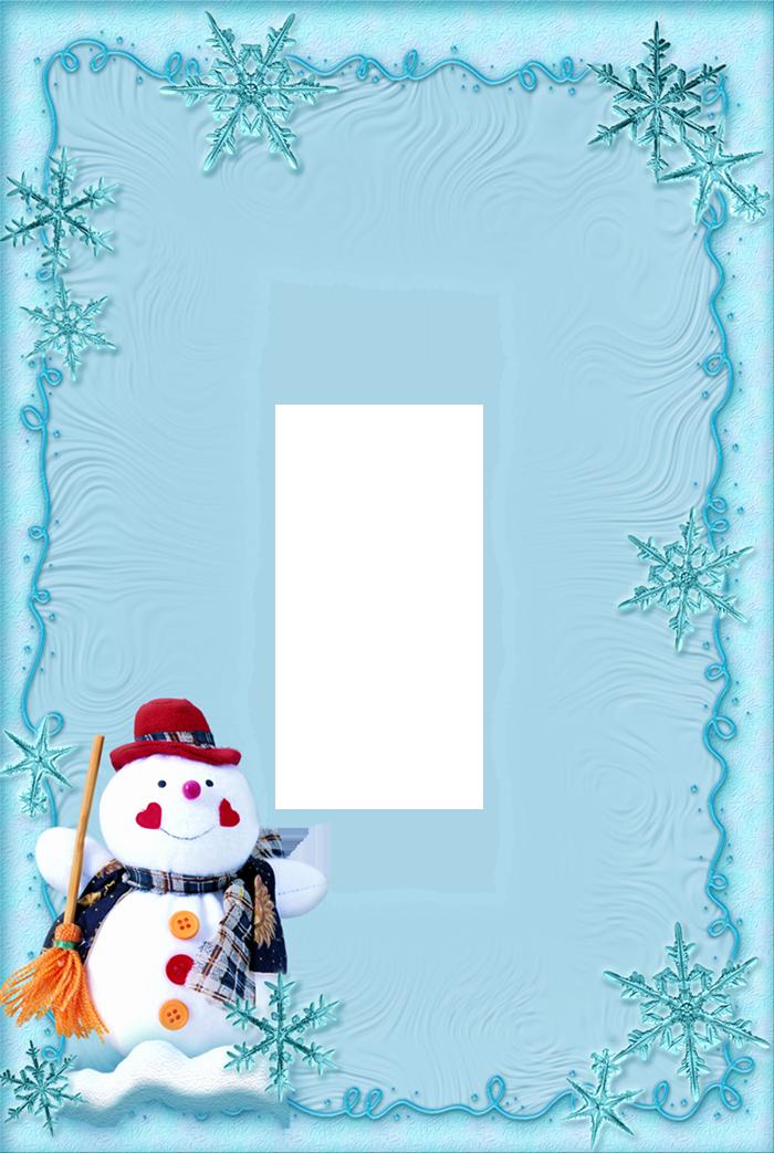 Christmas themed Borders for Word Inspirational Chrismas Snowman