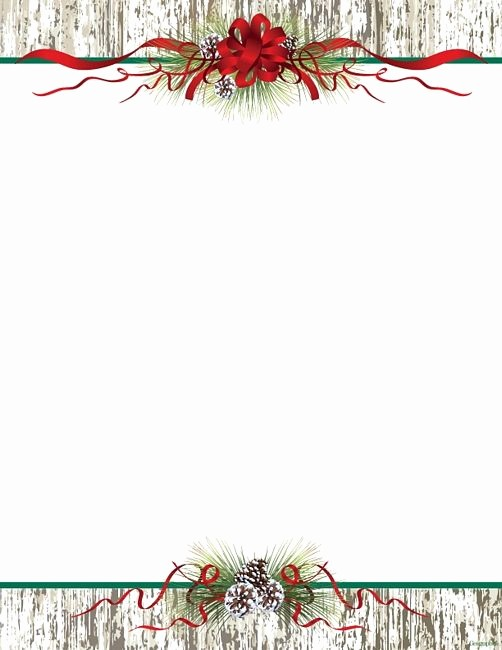 Christmas themed Borders for Word Inspirational Christmas Letter Red Snowman Free Christmas Letterhead