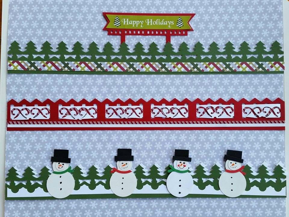 Christmas themed Borders for Word Lovely Birthday Bash Week Project Idea 3 Holiday themed Border