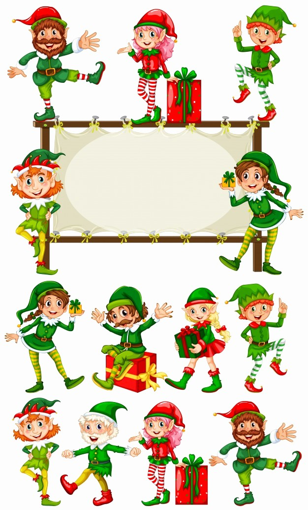 Christmas themed Borders for Word New Christmas Elf Border – Fun for Christmas & Halloween
