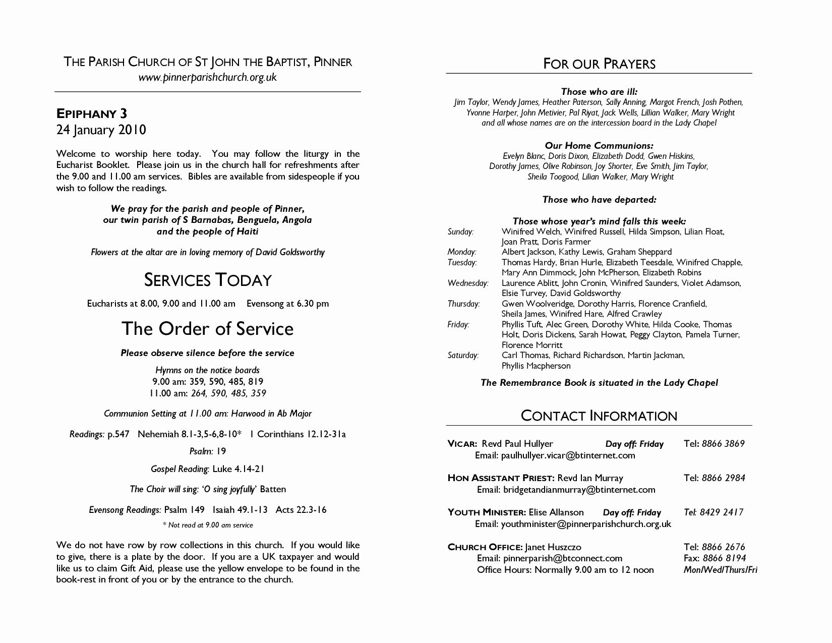 Church order Of Service Template Awesome Best S Of Sample Church Programs order Service