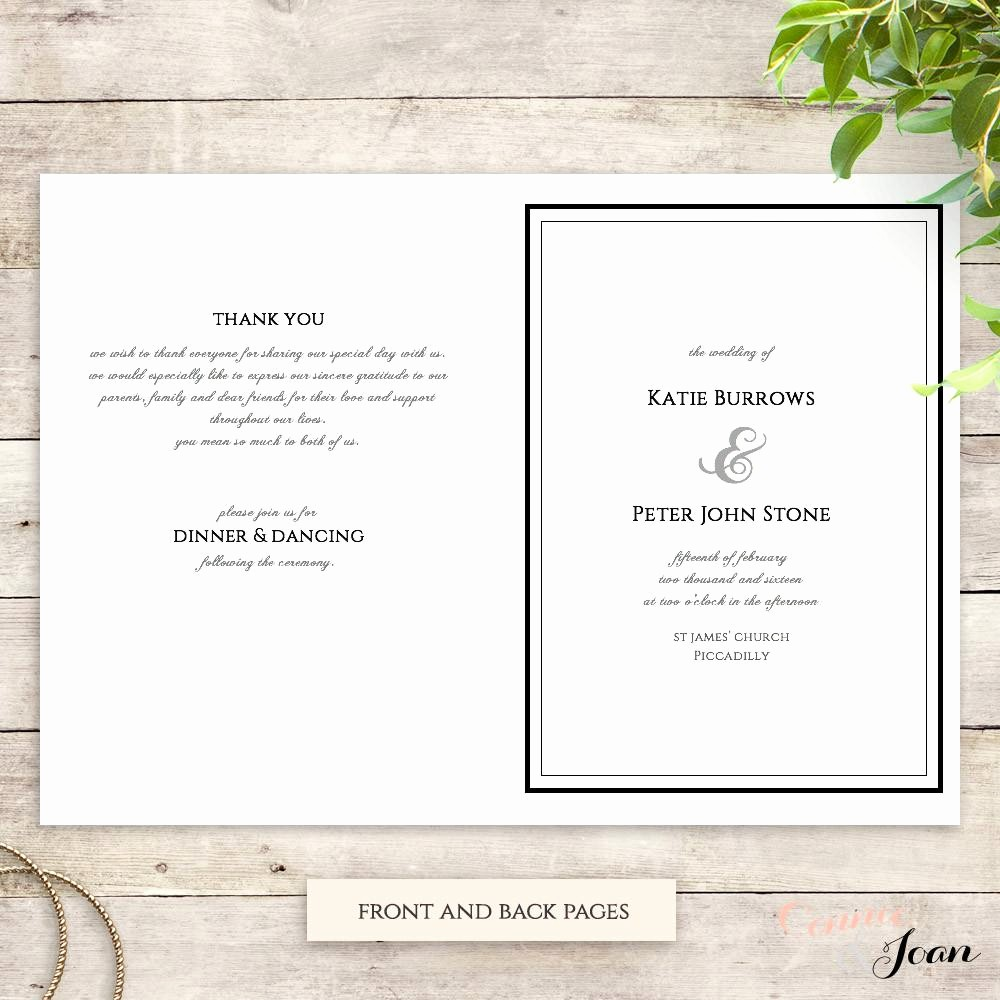 Church order Of Service Template Elegant Download Free Printable Church Program Templates