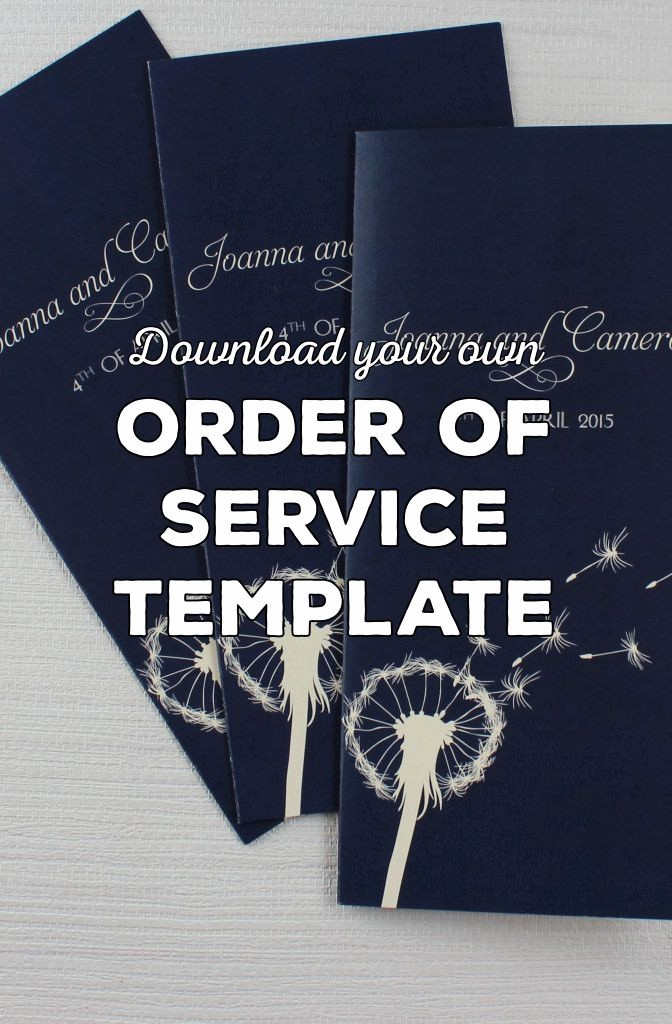 Church order Of Service Template Lovely Wedding order Of Service Wording Template What to Include