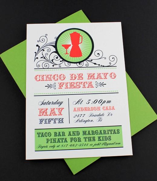 Cinco De Mayo Invite Template Best Of Cinco De Mayo Invitation Template Margarita Shaker