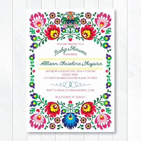 Cinco De Mayo Invite Template Best Of Cinco De Mayo Invite Fiesta Baby Shower by then Espaper