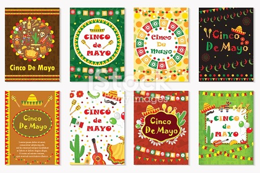 Cinco De Mayo Invite Template Best Of Cinco De Mayo Set Greeting Card Template for Flyer Poster