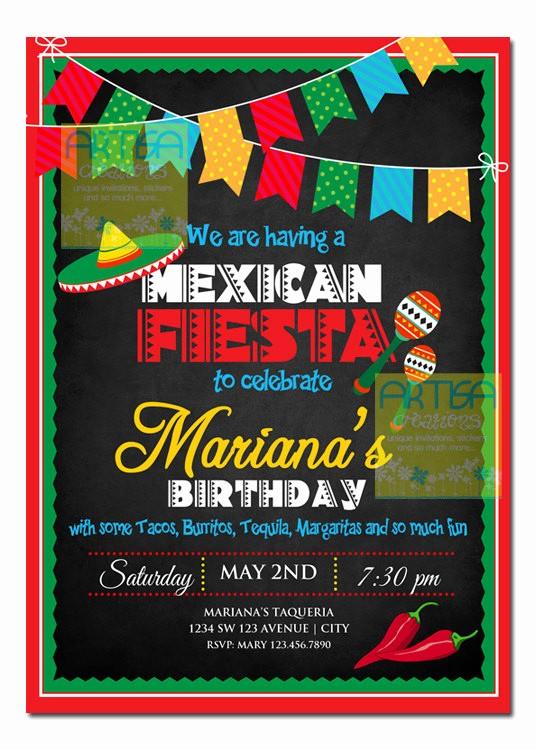 Cinco De Mayo Invite Template Best Of Mexican Fiesta Invitation Cinco De Mayo Invitation