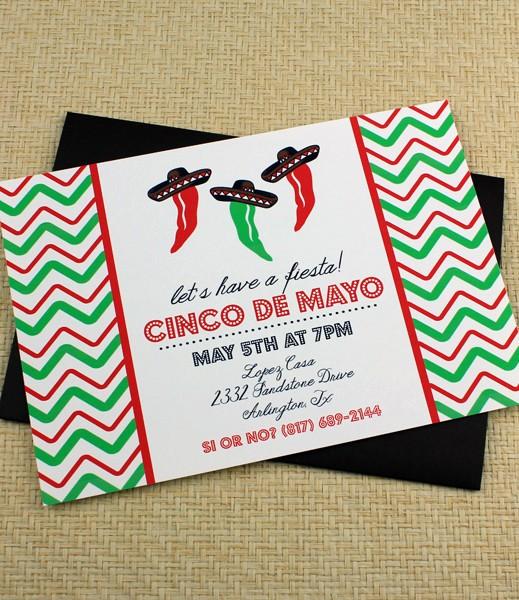 Cinco De Mayo Invite Template Elegant Cinco De Mayo Invitation Template Dancing Jalapeno