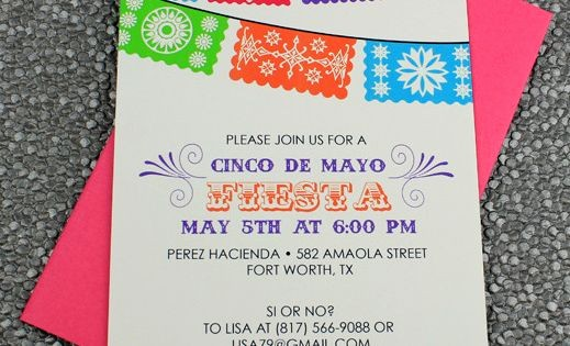 Cinco De Mayo Invite Template Elegant Cinco De Mayo Invitation Template Fiesta Banner
