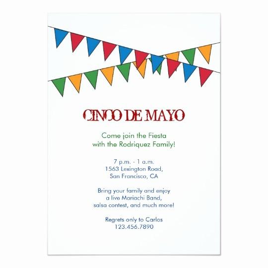 Cinco De Mayo Invite Template Fresh Cinco De Mayo Banner Invitation