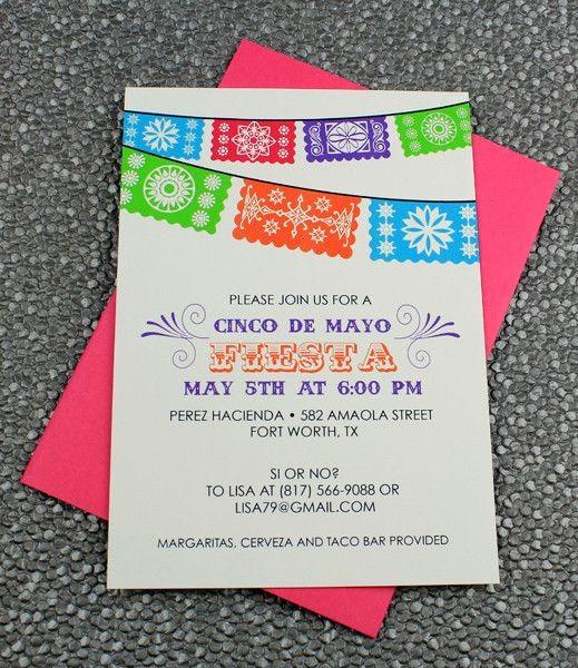 Cinco De Mayo Invite Template Fresh Pinterest • the World's Catalog Of Ideas
