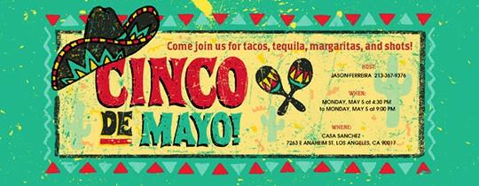 Cinco De Mayo Invite Template Inspirational Cinco De Mayo Free Online Invitations