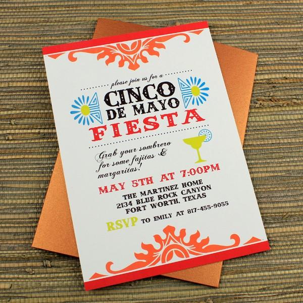 Cinco De Mayo Invite Template Lovely Cinco De Mayo Fiesta Invitation Template – Download & Print