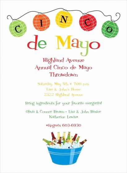 Cinco De Mayo Invite Template Unique Cinco De Mayo Invitation Templates