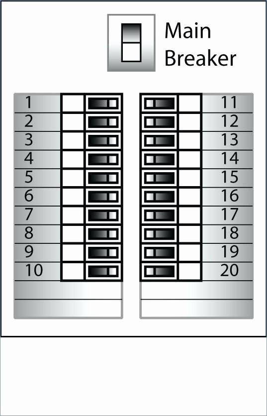 Circuit Breaker Template Ms Word Beautiful Free Breaker Box Label Template 2 Circuit – Picks