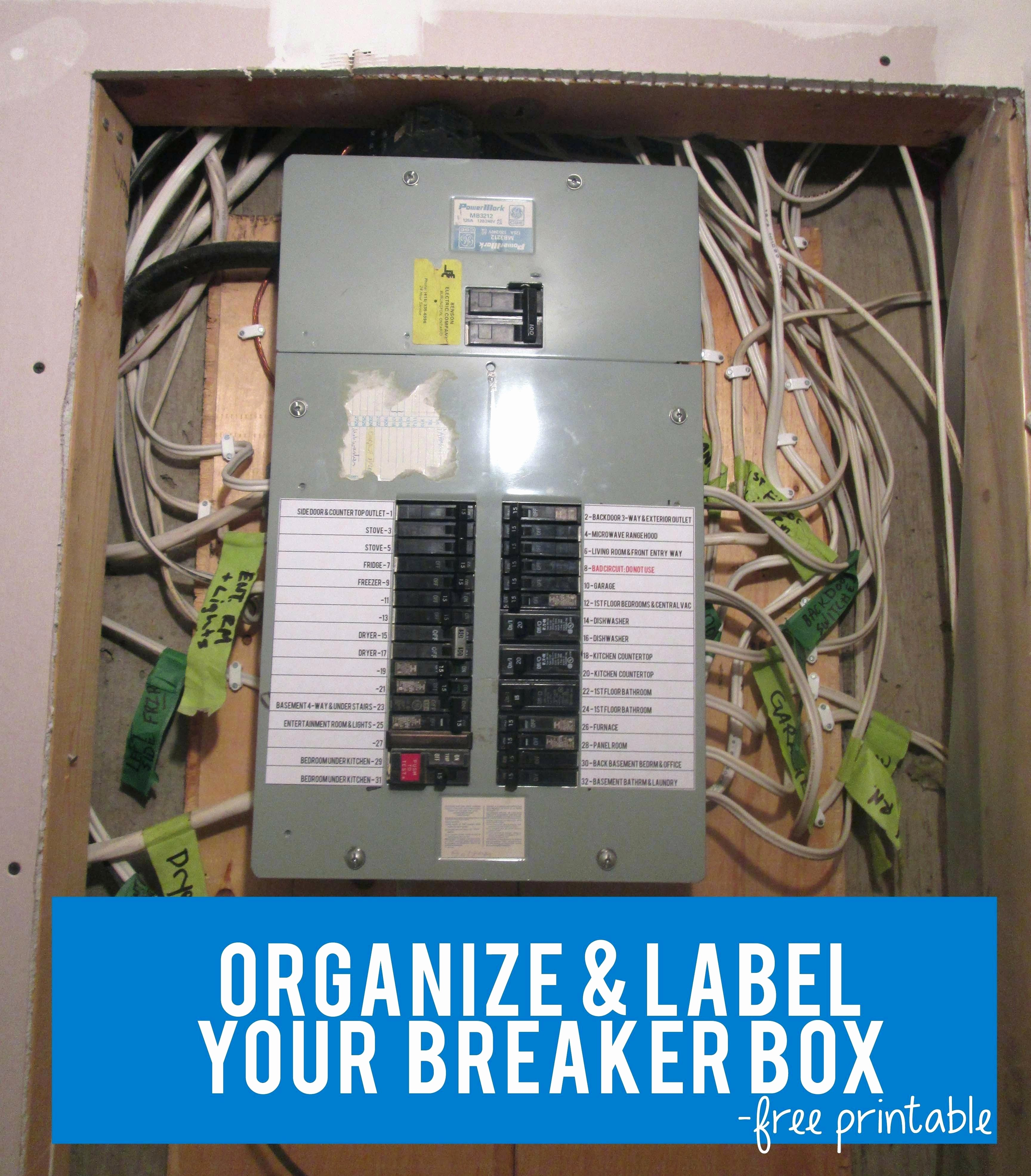 Circuit Breaker Template Ms Word Best Of Circuit Breaker Panel Template