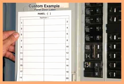 Circuit Breaker Template Ms Word Luxury Circuit Breaker Box Template Free Download • Playapk