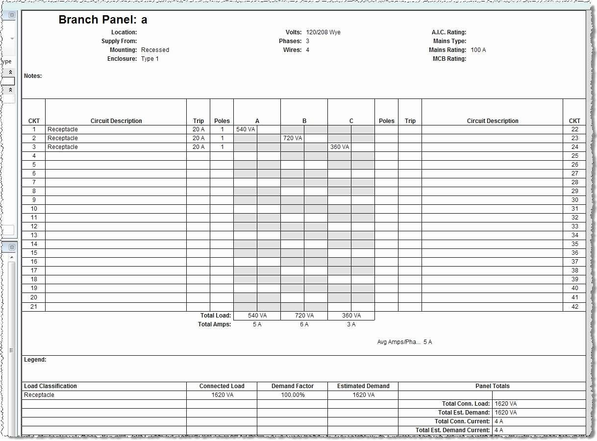 electrical panel labels template excel