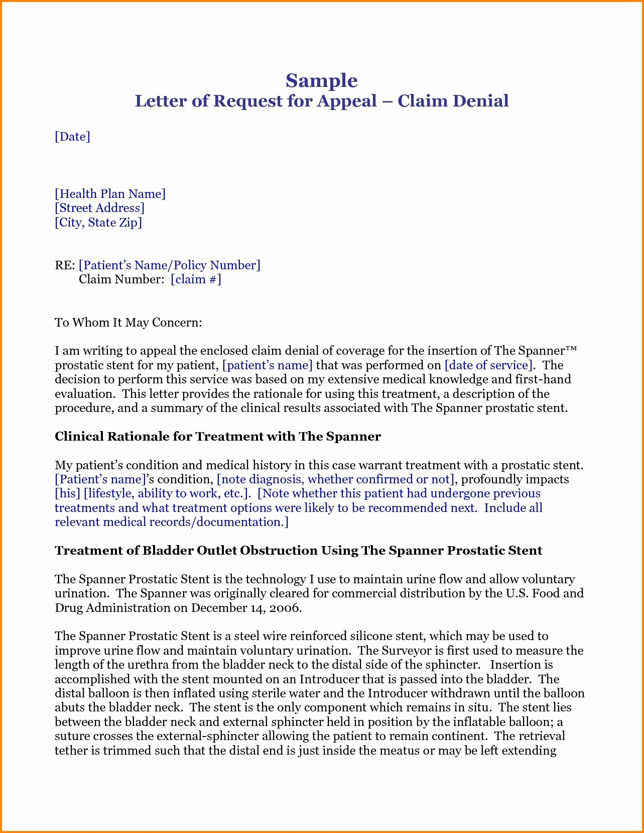 Claim Denial Letter Sample Airline Unique Insurance Claim Rejection Letter format Valid Claim Denial