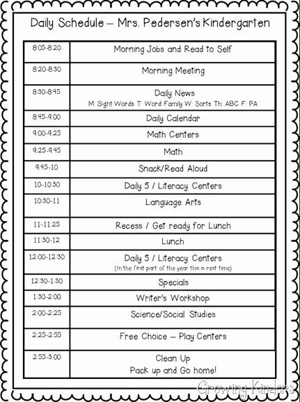 Class Schedule Maker for Teachers Beautiful High School Class Schedule Template San Pedro Senior