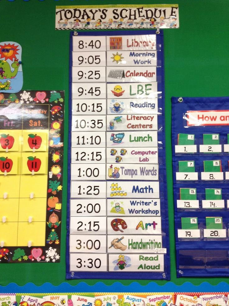 Class Schedule Maker for Teachers Best Of Daily Schedule Ideas for Pre K