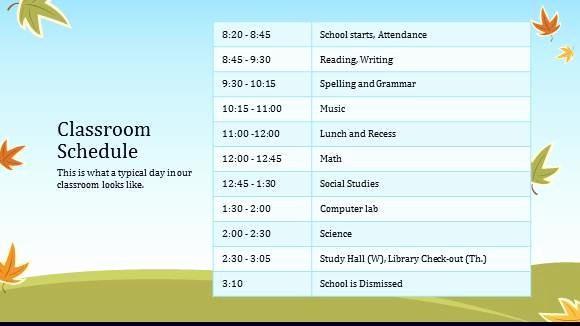 Class Schedule Maker for Teachers Inspirational 8 Class Schedule Makers Excel Templates