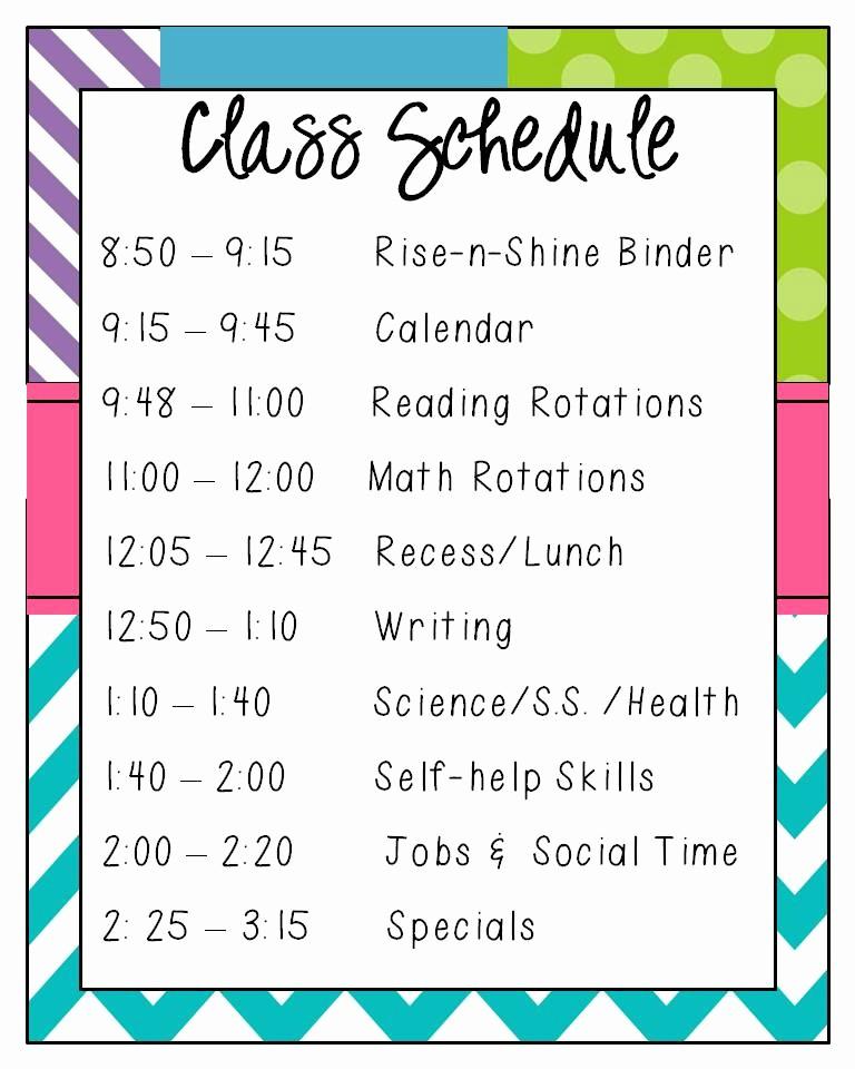 Class Schedule Maker for Teachers New Heat Day Minimum Block Day Schedule Tuesday